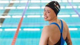 La sponsorizzazione di Prominent è visibile in tutto il mondo sugli indumenti sportivi e sulla cuffia di Sarah Köhler